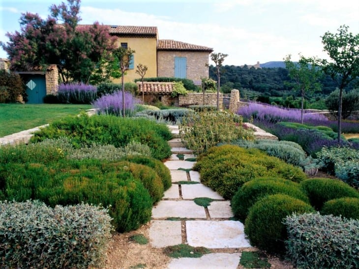jardin secano, jardin mediterraneo, xeroscape