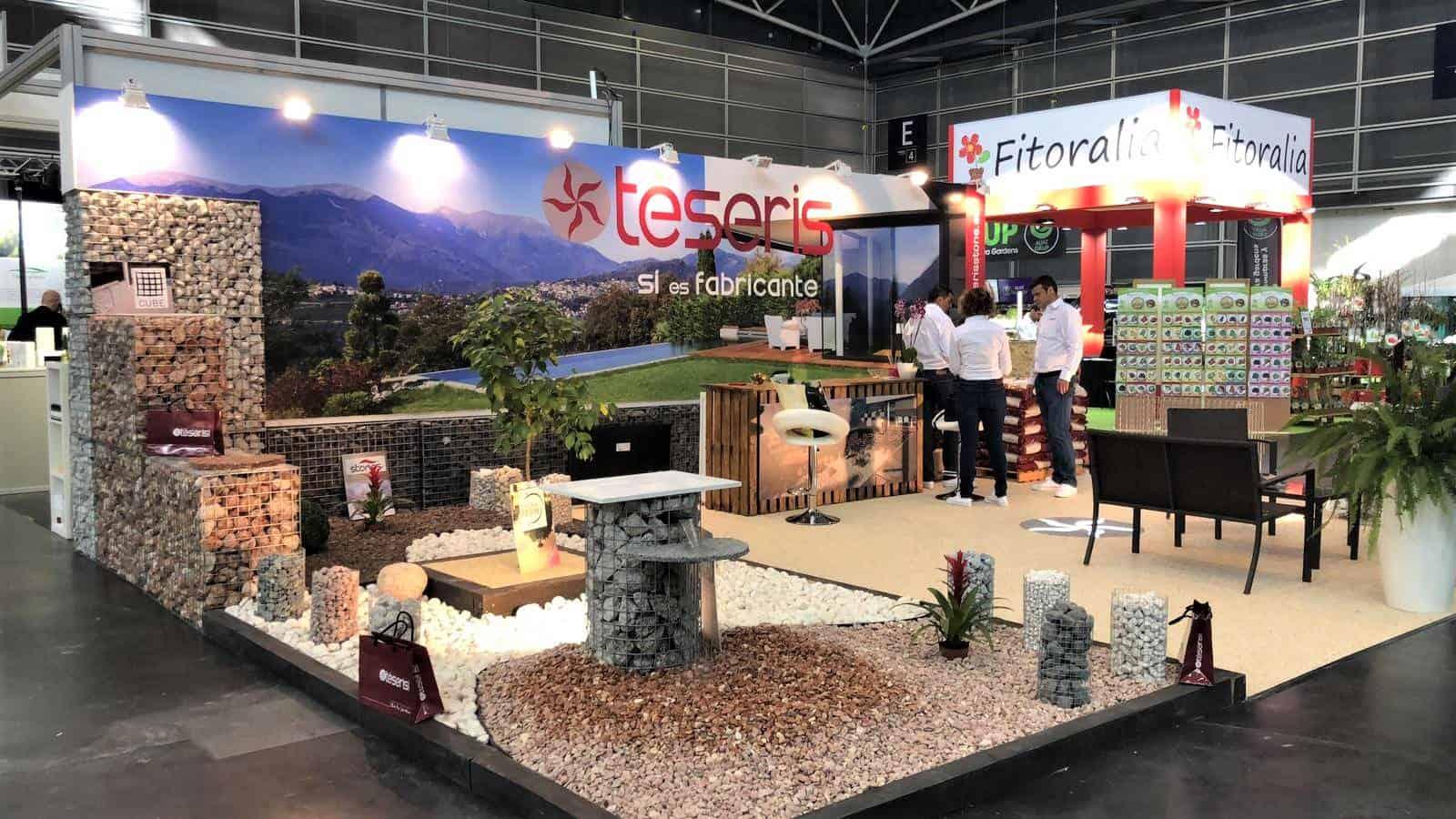 feria, iberflora, aridos, jardineria, paisajismo, stand